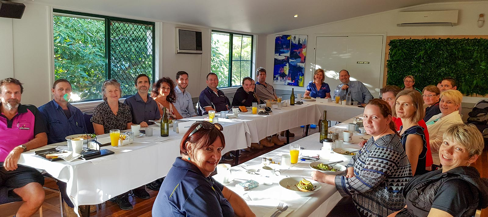 A Toowoomba Business Networkers breakfast meeting